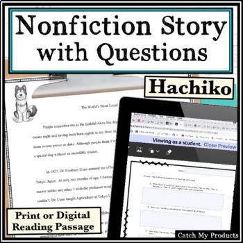 Nonfiction Passage Hachiko With Questions