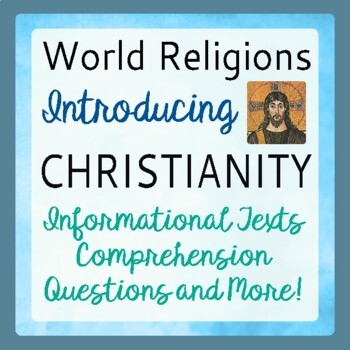 Christianity Introduction History Informational Texts Acti
