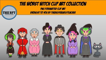The Worst Witch Original Clip Art Collection