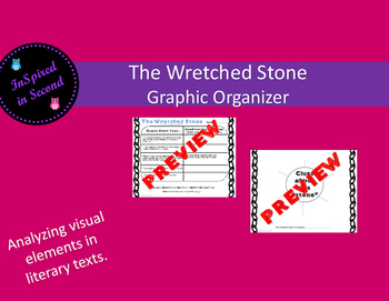 The Wretched Stone (Chris Van Allsburg) Graphic Organizer for Visual Elements