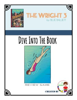 End of Book Review Game for The Wright 3 by Blue Balliett