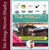 The Wright 3 by Blue Balliett Novel Study