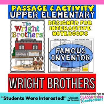 The Wright Brothers: Biography Reading Passage: Famous Inventor
