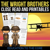 The Wright Brothers Reading Passage and Activities