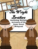 The Wright Brothers: Analyzing Multiple Accounts of the Same Event Webquest