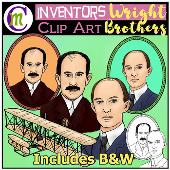 The Wright Brothers Clip Art