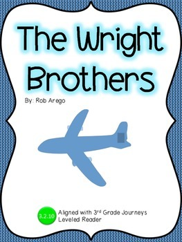 The Wright Brothers Guided Notes: Journeys 3rd grade