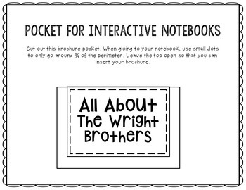 The Wright Brothers - Inventor Research Project Interactive Notebook, Scientist