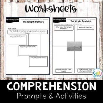 The Wright Brothers Reading and Writing Activity (SS5H1b)