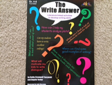 The Write Answer: Literature-Linked Activities to Develop Writing Skills