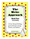 Writing: The Write Approach: (Book 4) Poetry Writing