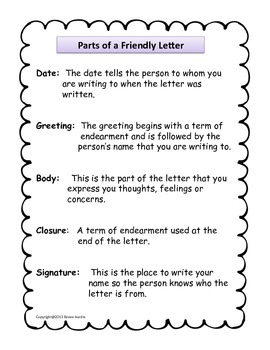 Writing: The Write Approach: (Book 2) Friendly Letters