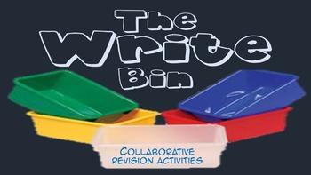 The Write Bin Essay Revision Activity - Common Core Grades 6-12