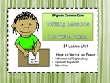 Common Core Essay Writing: The Write Format