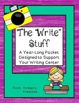 The Write Stuff: A Year-long Writing Packet