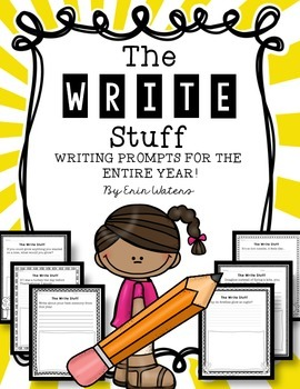 The Write Stuff Bundle: A Year of Writing Prompts