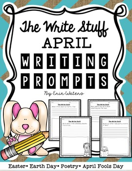 The Write Stuff: April Writing Prompts