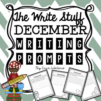 The Write Stuff: December Writing Prompts