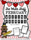 The Write Stuff: February Writing Prompts