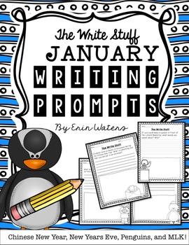 The Write Stuff: January Writing Prompts