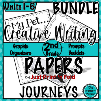 The Write Stuff Second Grade BUNDLE:  Writing Papers for U
