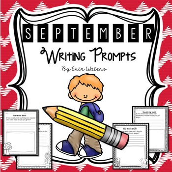 The Write Stuff: September Writing Prompts