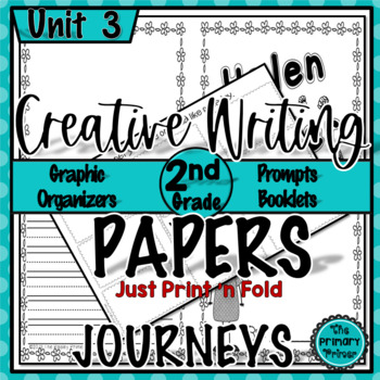 Journeys SECOND Grade The Write Stuff:  Writing Papers for Unit THREE