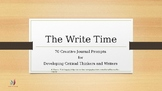 The Write Time: 70 Creative Journal Prompts for Developing