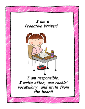 The Writer in Me Posters