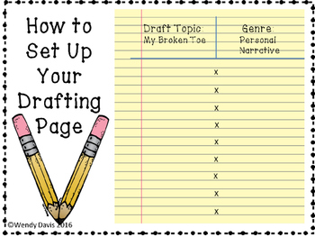 The Writer's Notebook and the Writing Process Poster Kit