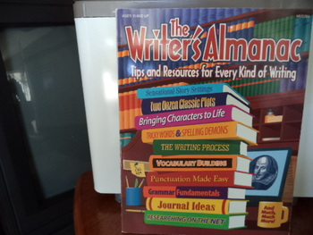 The Writer's Almanac  ISBN#1-57612-070-8
