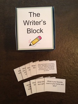 The Writer's Block {Writing Prompts}