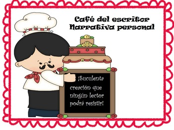 The Writer's Cafe: Personal Narrative (Bilingual Bundle)