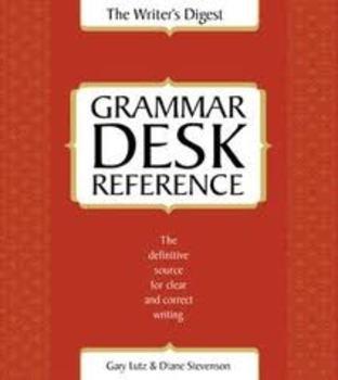 The Writer's Digest Grammar Desk Reference