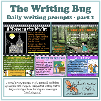 The Writing Bug Part 1