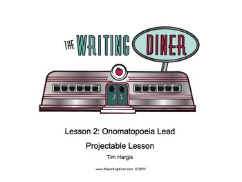 Onomatopoeia Lead from The Writing Diner