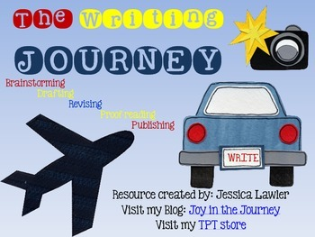 The Writing JOURNEY Poster Packet