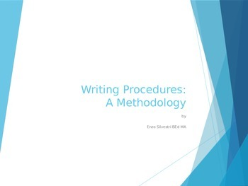 The Writing Procedure Part A