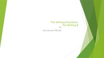 The Writing Procedure Part B