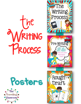 The Writing Process - Super Hero Theme