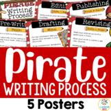Pirate Theme: Writing Process Posters