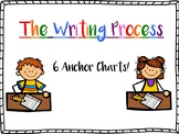 The Writing Process: 6 Anchor Charts!