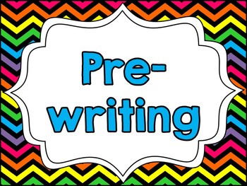 The Writing Process: A Clipchart for Student Tracking {Neon Rainbow}