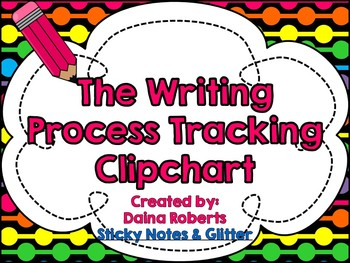 The Writing Process: A Clipchart for Student Tracking {Neo