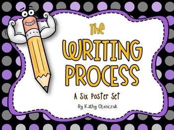 The Writing Process -- A Six Poster Set