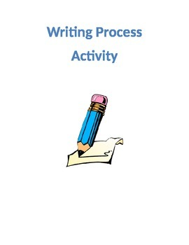 The Writing Process Activity