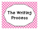 The Writing Process Anchor Charts