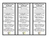 The Writing Process Bookmark Primary Grades