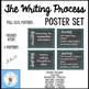 The Writing Process Chalkboard Posters
