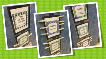 The Writing Process Check-In Display for Your Classroom